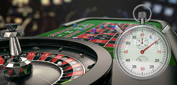 Casino Table and Stopwatch